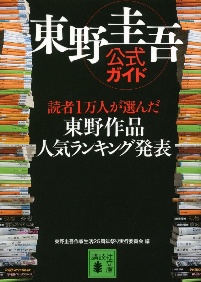 東野圭吾公式ガイド 読者1万人が選んだ 東野作品人気ランキング発表