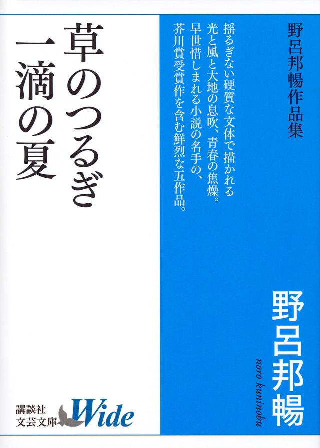 草のつるぎ/一滴の夏 野呂邦暢作品集